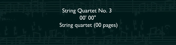String Quarter No.3
