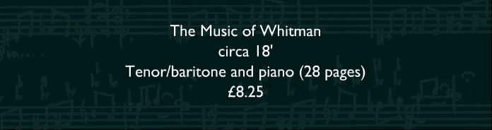 The Music of Whitman_front